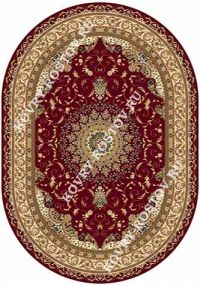 BUHARA d027 RED OVAL