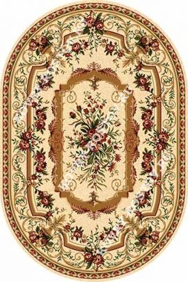 DA VINCI 5245 CREAM OVAL