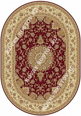 BUHARA d158 RED OVAL