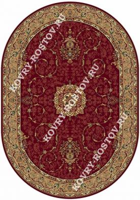 BUHARA d034 RED OVAL