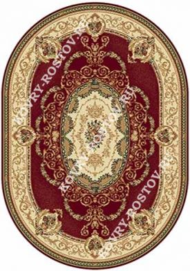 BUHARA d058 RED OVAL