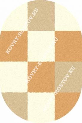 SHAGGY ULTRA s602 CREAM-BEIGE OVAL